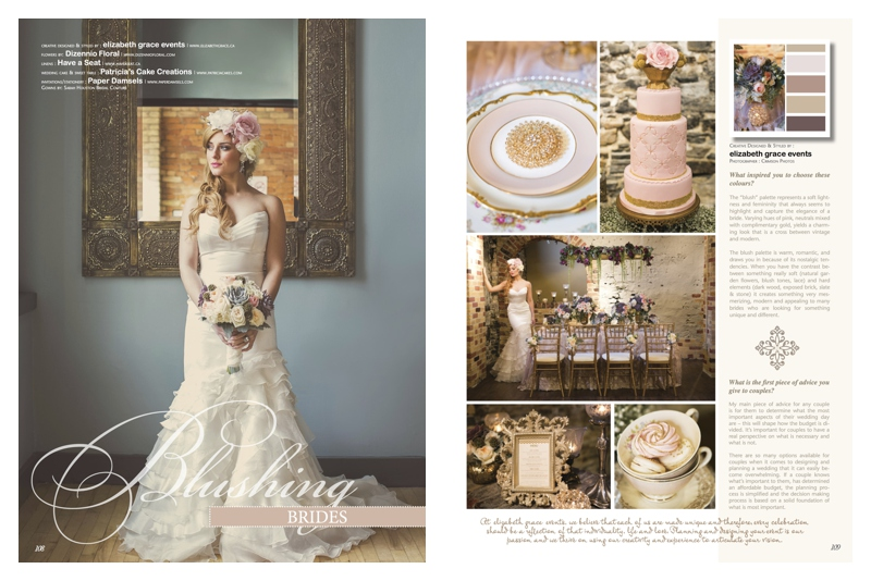 Blush Weddings and pink Palette for Wedding- Inspiration
